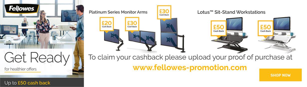 Fellowes Cashback