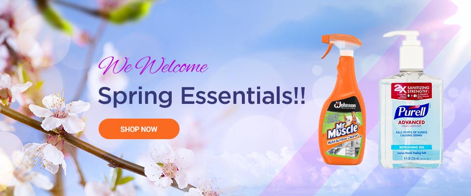 Spring Essentials!!