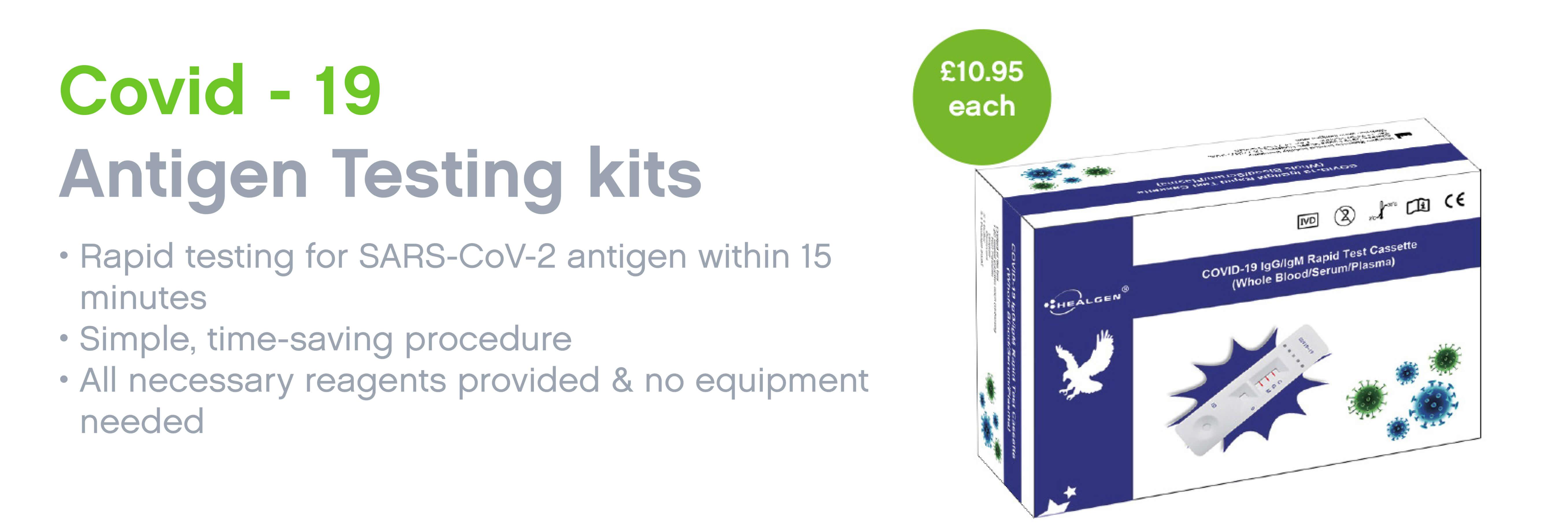 Antigen Testing Kits